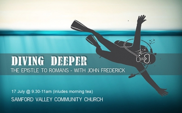'Diving Deeper' – with John Frederick